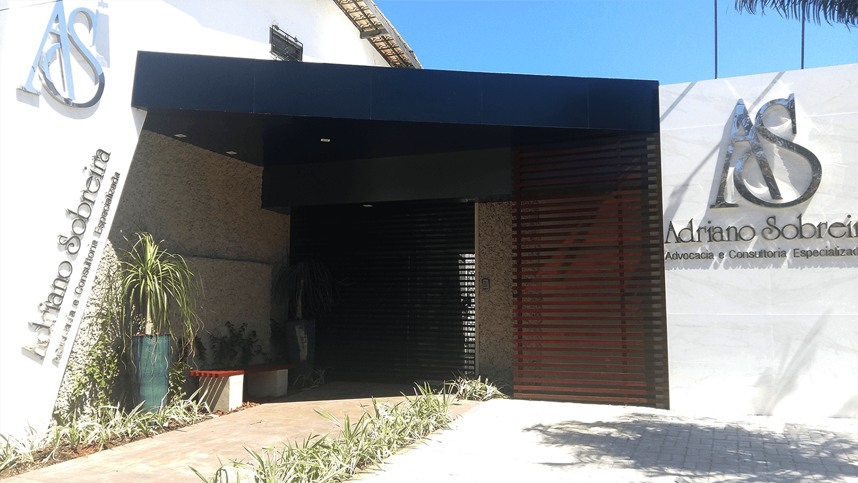Foto da fachada da empresa